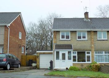 Thumbnail 3 bed semi-detached house for sale in Heol Derwen, Neath, Neath Port Talbot.