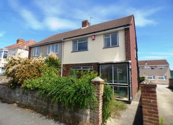 Thumbnail 3 bedroom semi-detached house for sale in Totterdown Road, Weston-Super-Mare