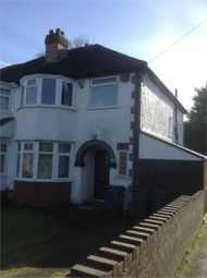 Thumbnail 3 bed semi-detached house for sale in Welby Road, Birmingham, West Midlands