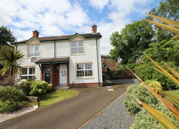 Thumbnail 2 bed semi-detached house for sale in Molyneaux Walk, Lisburn