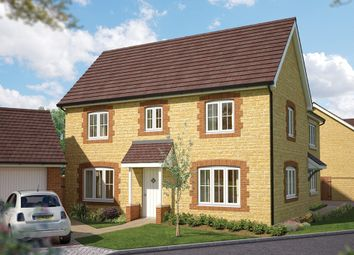 "Thumbnail 3 bed semi-detached house for sale in ""The Spruce"" at Gainsborough, Milborne Port, Sherborne"