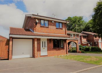Thumbnail 3 bedroom detached house for sale in Troon Court, Perton