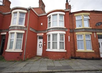 Thumbnail 2 bed terraced house to rent in Mollington Road, Wallasey, Wirral