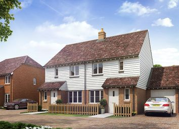 "Thumbnail 3 bedroom semi-detached house for sale in ""The Hanbury"" at Station Road, Northiam, Rye"