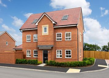 "Thumbnail 4 bed detached house for sale in ""Hexham"" at Tay Road, Lubbesthorpe, Leicester"