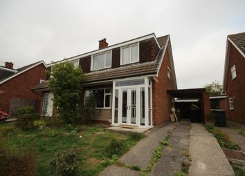 Thumbnail 3 bed semi-detached house to rent in Compton Green, Fulwood, Preston