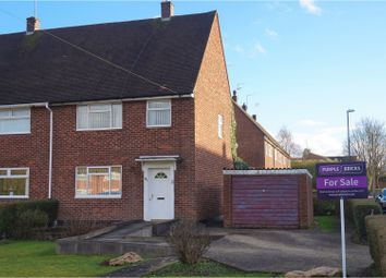 Thumbnail 3 bed end terrace house for sale in Templars Field, Coventry