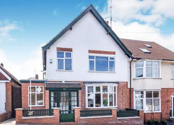 Thumbnail 3 bedroom semi-detached house for sale in Taunton Road, Leicester, Leicestershire