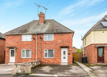 Thumbnail 2 bed semi-detached house for sale in Park Street, Uttoxeter