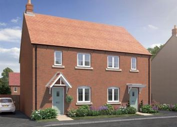 Thumbnail 3 bed semi-detached house for sale in Kempton Close, Bicester, Oxfordshire
