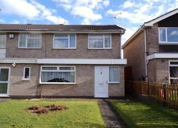 Thumbnail 3 bed semi-detached house for sale in Blakesley Walk, Leicester