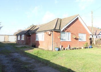 Thumbnail 3 bed detached bungalow for sale in Capel Street, Capel-Le-Ferne, Folkestone Kent