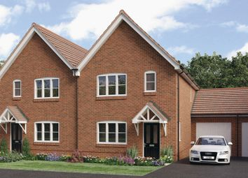 Thumbnail 3 bed detached house for sale in Mill Straight, Southwater