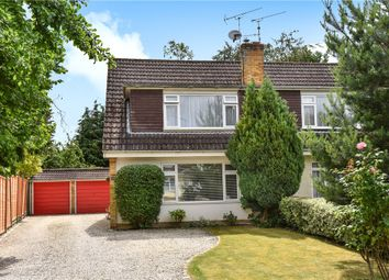Thumbnail 3 bed semi-detached house for sale in Fairmile, Fleet, Hampshire