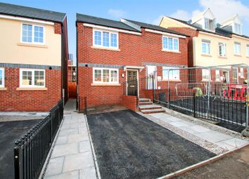 Thumbnail 2 bed semi-detached house for sale in Off Bucknall New Road, Hanley, Stoke-On-Trent