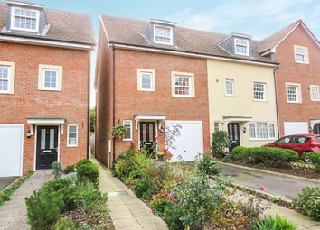 Thumbnail 4 bedroom town house for sale in Princes Court, Royston