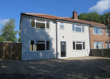 Thumbnail 4 bed end terrace house for sale in Duckett Close, Norwich