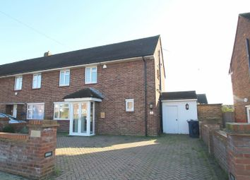 Thumbnail 3 bed terraced house for sale in Epsom Close, Northolt, Middlesex