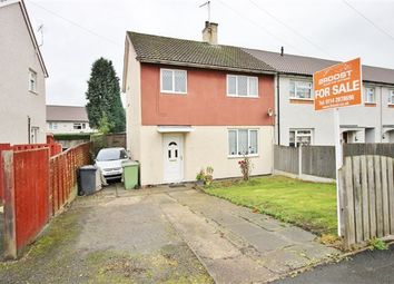Thumbnail 3 bed end terrace house for sale in Carwood Road, Renishaw, Sheffield