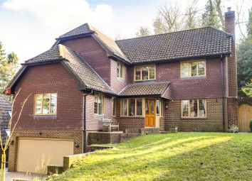 Thumbnail 4 bed detached house for sale in Fernden Rise, Godalming, Surrey