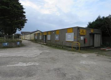 Thumbnail Light industrial for sale in Former Hewden Plant Hire Site, Mount Carbis Road, Redruth, Cornwall