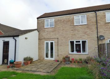 Thumbnail 2 bed semi-detached house for sale in Porter Road, Long Stratton, Norwich