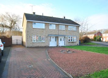 Thumbnail 3 bed semi-detached house for sale in Rushbury Road, Wellington, Telford