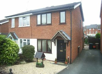 Thumbnail 2 bed semi-detached house to rent in Middleton Close, Oswestry, Shropshire
