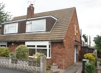 Thumbnail 3 bed semi-detached house for sale in Burgin Road, Anstey, Leicester