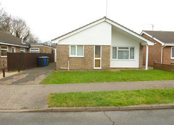 Thumbnail 3 bedroom bungalow to rent in Gainsborough Drive, Gunton, Lowestoft