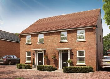 """Thumbnail 3 bedroom semi-detached house for sale in """"Ashurst"""" at Pyle Hill, Newbury"""
