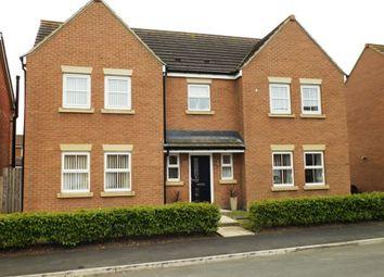 Thumbnail 5 bed detached house for sale in Carnoustie Close, Ashington