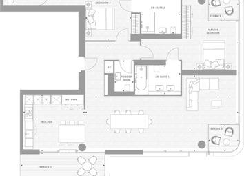 3 Bed Penthouse Apartment Worship Street, London E1