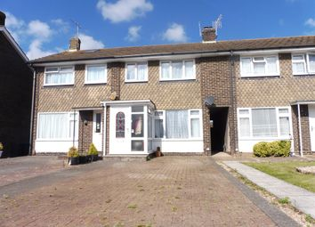 Thumbnail 3 bed terraced house for sale in The Martlets, Sompting, Lancing