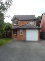 Thumbnail 3 bedroom detached house to rent in Lon Y Parc, St Asaph