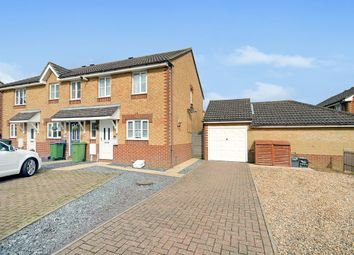 Thumbnail 3 bed end terrace house for sale in Gray Close, Hawkinge, Folkestone