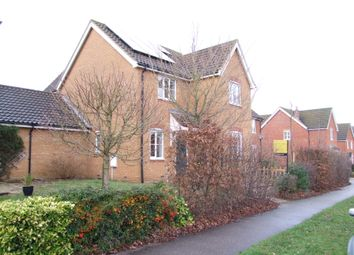 Thumbnail 4 bed link-detached house for sale in Brook Farm Road, Saxmundham, Suffolk