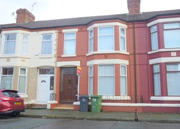 Thumbnail 3 bed terraced house to rent in Aspinall Street, Birkenhead