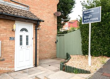 Thumbnail 1 bed semi-detached house to rent in Tollgate, Peacehaven, East Sussex