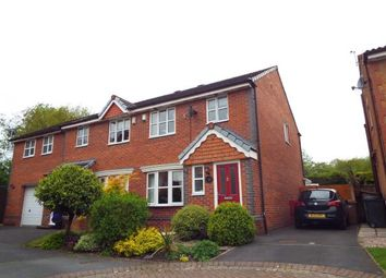 Thumbnail 3 bed semi-detached house for sale in Hedgerows Road, Leyland, .