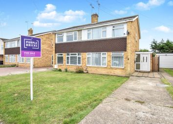 Thumbnail 3 bed semi-detached house for sale in Bramley Way, Mayland