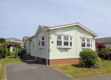 Thumbnail 2 bed mobile/park home for sale in Honeysuckle Drive, Nyetimber, Bognor Regis