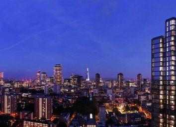 Thumbnail 2 bed flat to rent in Carrara Tower, 250 City Road, Islington, London