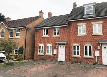 Thumbnail 3 bed end terrace house to rent in Summerleigh Walk, Stubbington, Fareham