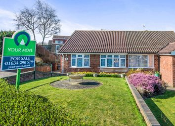 Thumbnail 2 bed semi-detached house for sale in Farm Hill Avenue, Strood, Rochester
