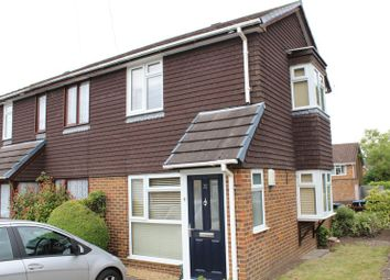 Thumbnail 1 bed end terrace house to rent in Alexandra Road, Englefield Green, Egham
