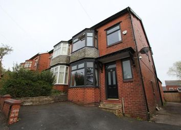 Thumbnail 4 bed semi-detached house for sale in Selkirk Avenue, Oldham, Greater Manchester