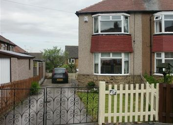 Thumbnail 2 bed semi-detached house to rent in Warneford Rise, Cowlersley, Huddersfield