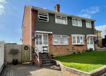 Thumbnail 3 bed semi-detached house for sale in Carlton Crescent, Gwaun Miksin, Beddau