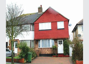 Thumbnail 3 bed semi-detached house for sale in Sherborne Road, North Cheam, Sutton